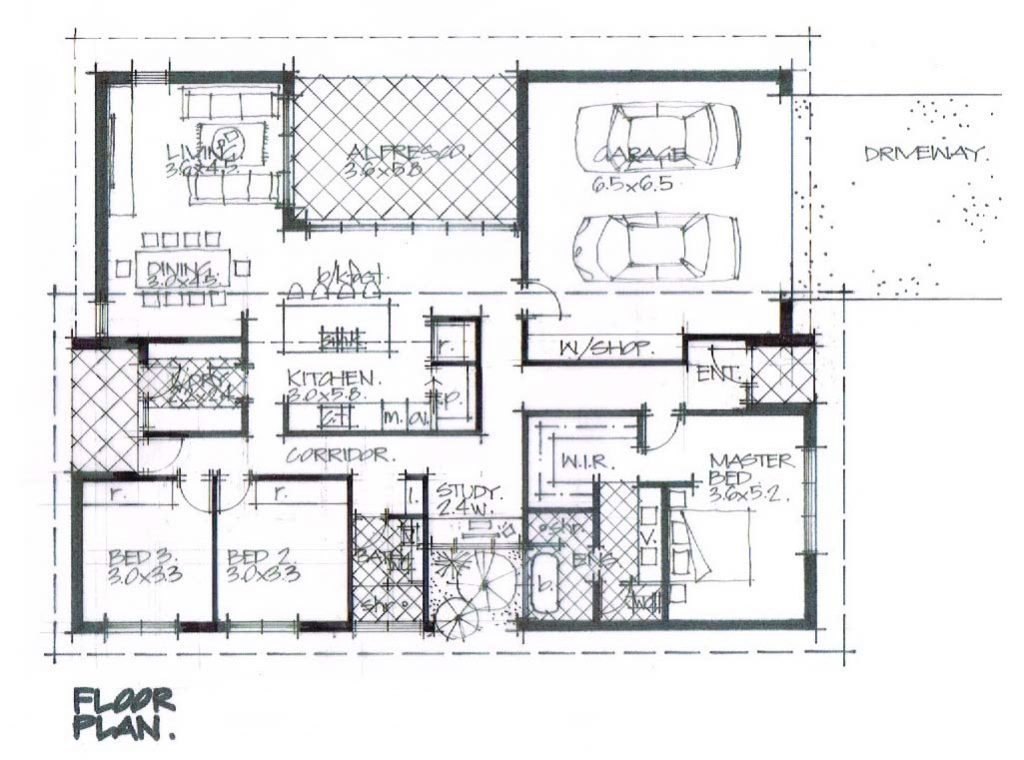 Graph Residential Fingal Bay floor plan