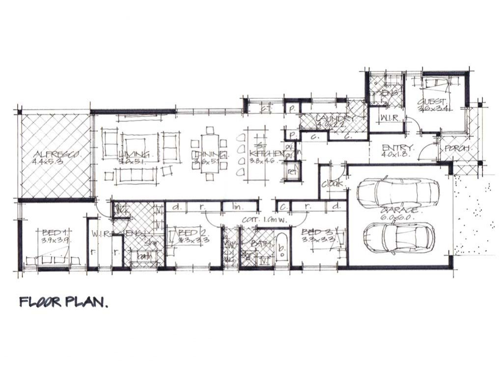 Graph Residential Warners Bay floor plan